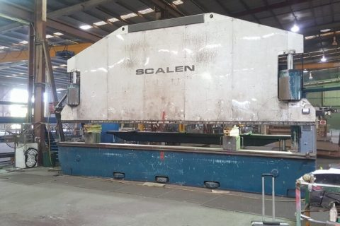 Relocate SCALEN 400T press at RPG Australia
