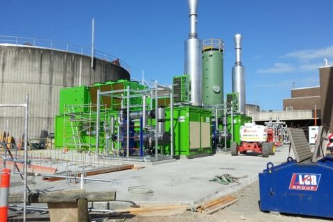 installation of gas generator